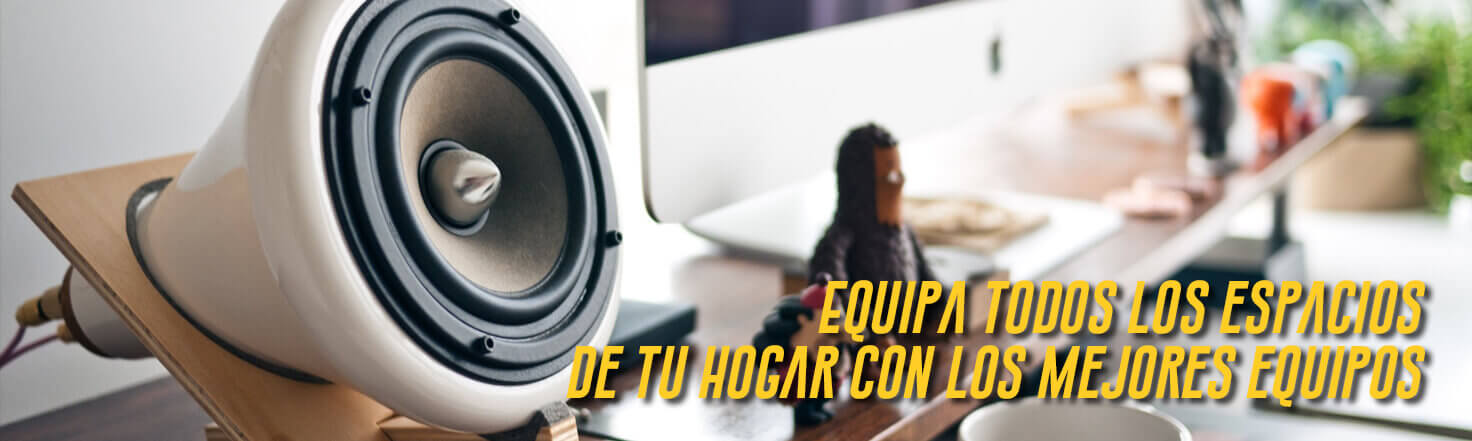 Banner Audio y video Shop