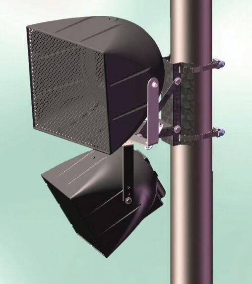 Community PMB-1RR Soporte sencillo a tubo