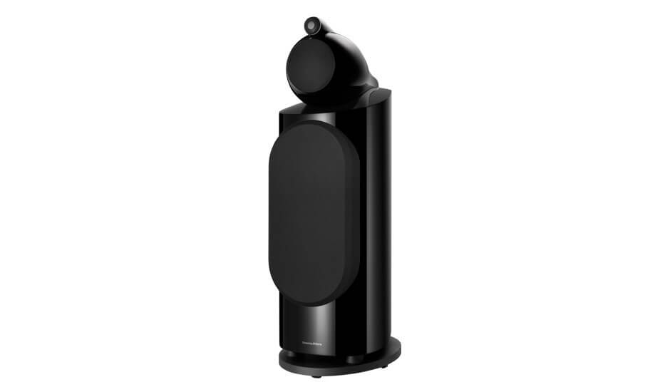 Caja acustica torre, bass reflex, 3 vias, 2 woofers 10