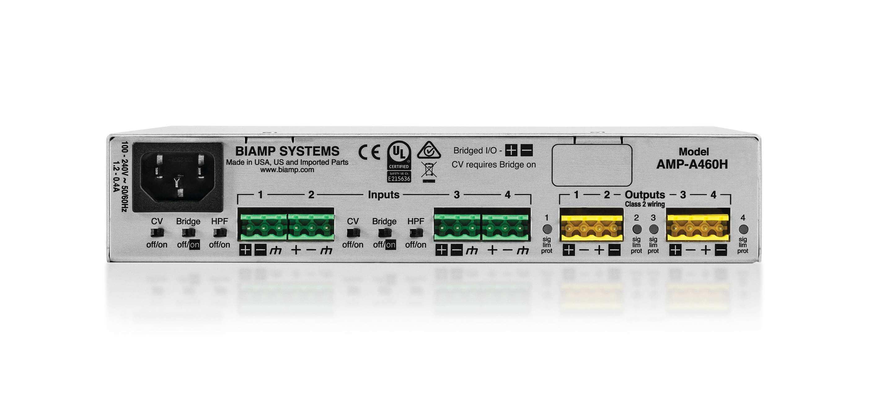 Amplificador de cuatro canales que ofrece 60 vatios por canal-Amp-A460h
