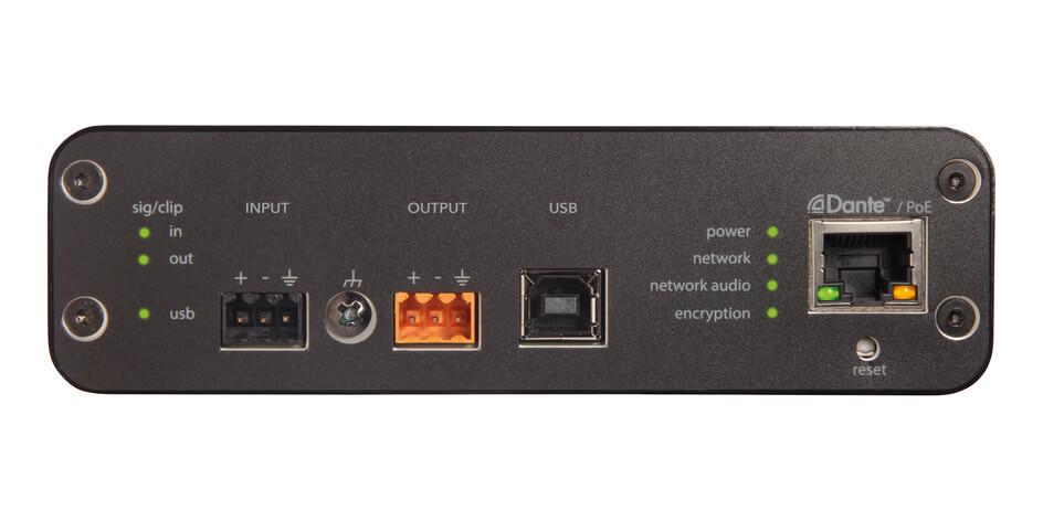 Interfaz de audio para red-Aniusb-Matrix