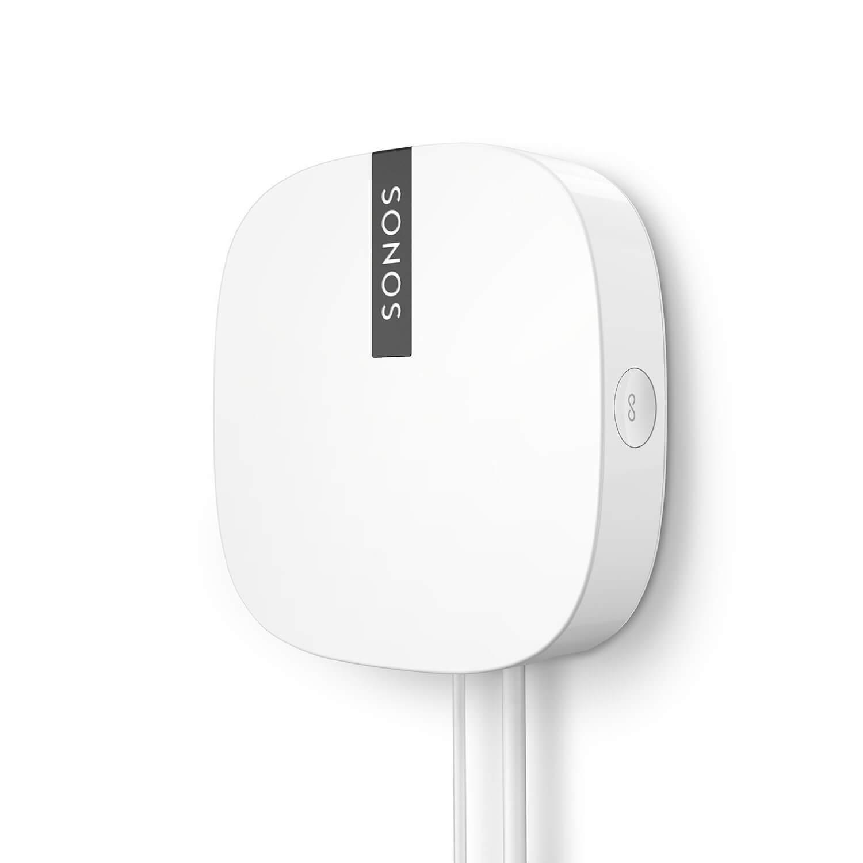 Sonos BOOST Adaptador repetidor de red, 3 antenas inalambricas, transmiten las señales a 360 grados a traves de las paredes