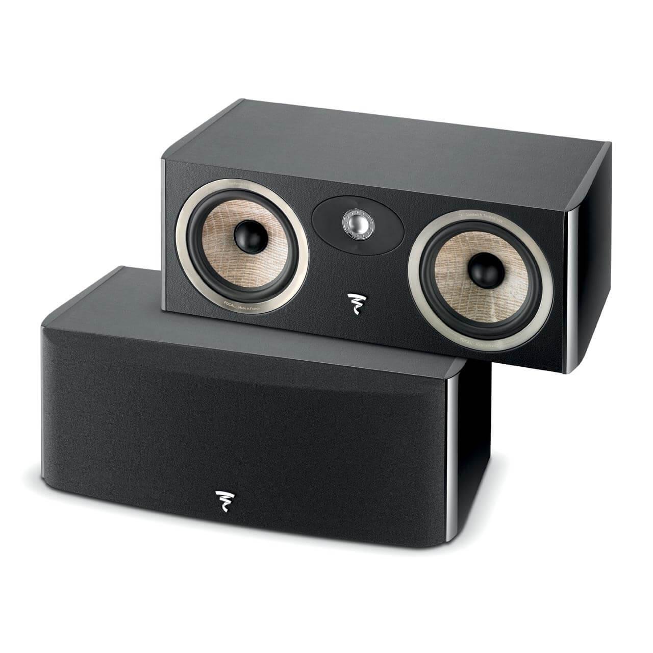 FOCAL ARIA CC900 Bocina central, bass-Reflex 2 vias, potencia 40-200w, impedancia 8Ohms, pieza