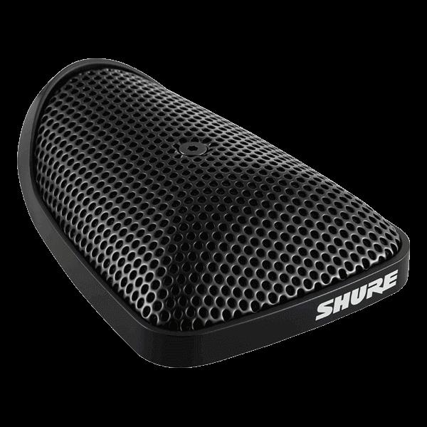 Microfono de superficie, cable de 3.6 mts, conector xlr, color negro-Cvb-B/o
