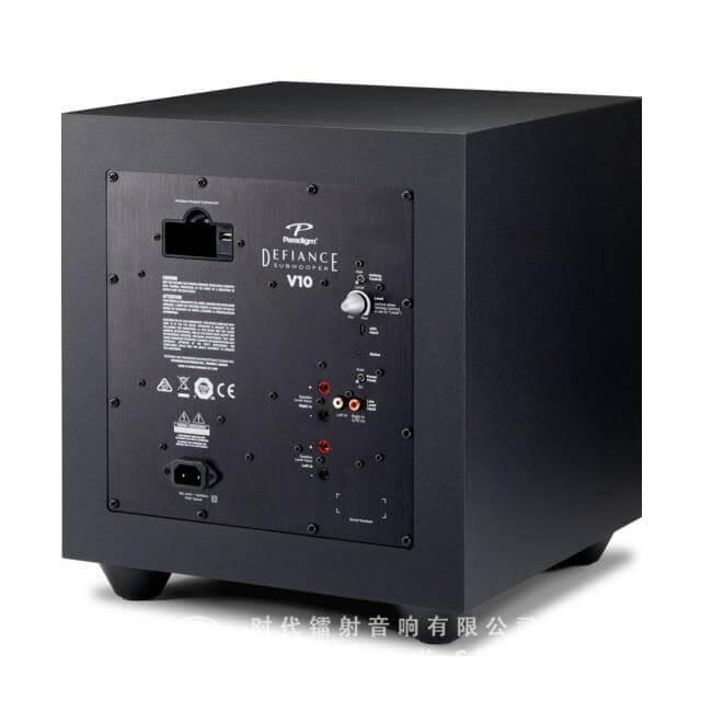 Paradigm Defiance v10 subwoofer de 10 pulgadas con amplificador clase d