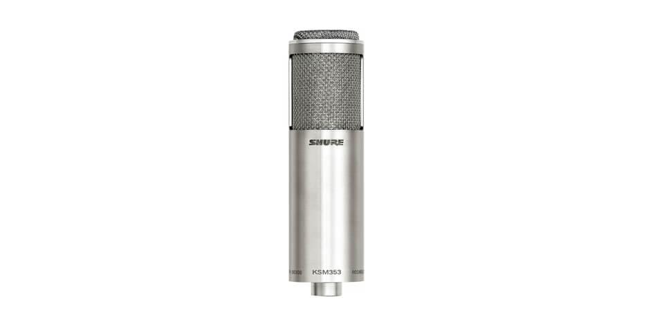 Micrófono de cinta bidireccional premier, bidirecional-Ksm353/ed