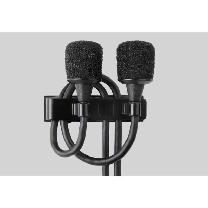 Micrófono de solapa microflex subminiatura omnidireccional-Mx150b/o-TQg