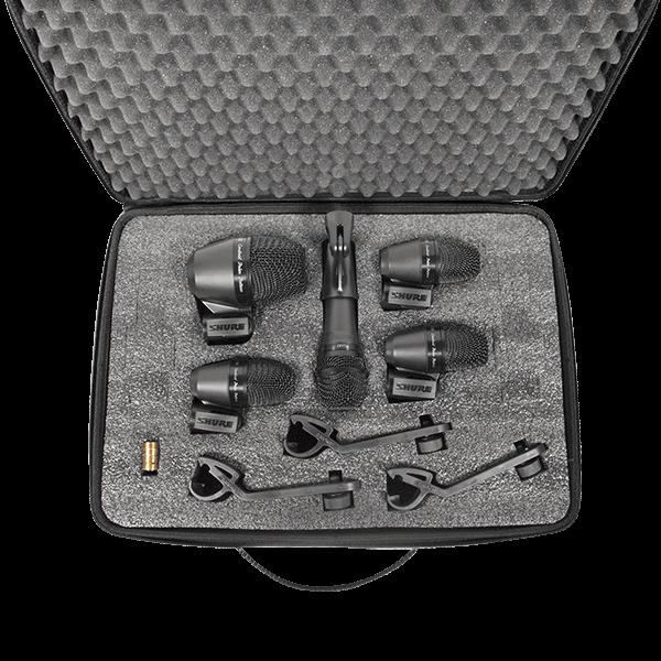Paquete de 5 micrófonos p/batería, 3 x pga56, 1 x pga52, 1 x pga57-Pgadrumkit5