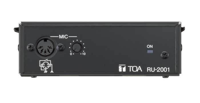 TOA RU-2001 UNidad de control de amplificador