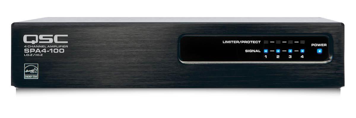 Amplificador clase d de 100w x 4 canales en 8 o 4 ohms-Spa4-100