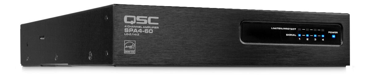 Amplificador clase d 60w x 4 canales en 8 y 4 ohms-Spa4-60