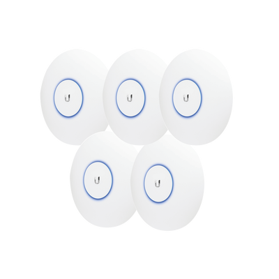 Paquete de 5 Access Point UniFi doble banda