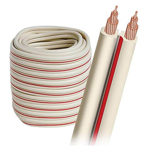 Bobina de cable de bocina semisolido (lgc) calibre 14 (100m)-X-2