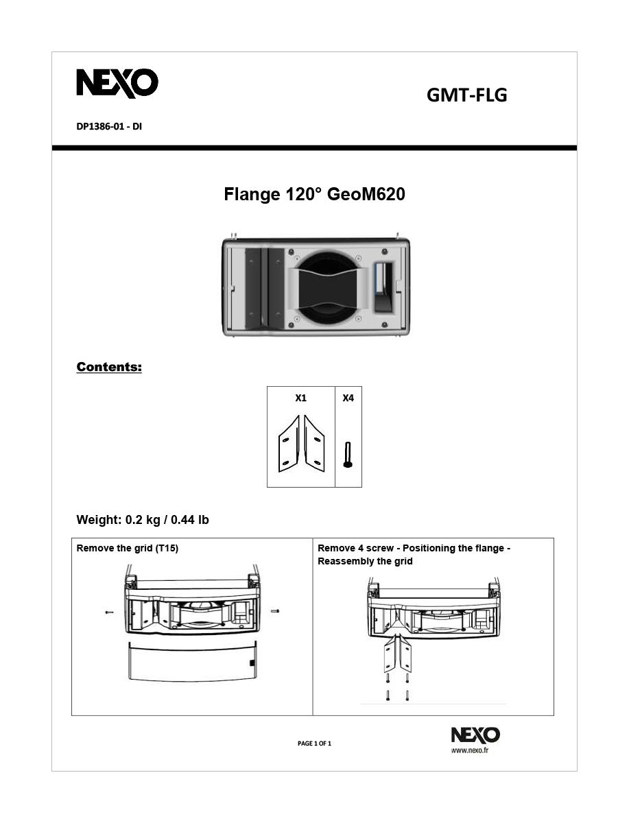 Aletas para modificar la cobertura de un m6 en el plano horizontal de 80º a 120º-Gmt-FLg