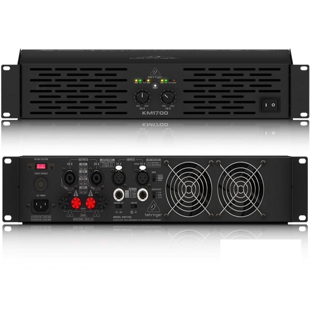 Amplificador estereo de 1700watts  a 8 ohms-Km1700