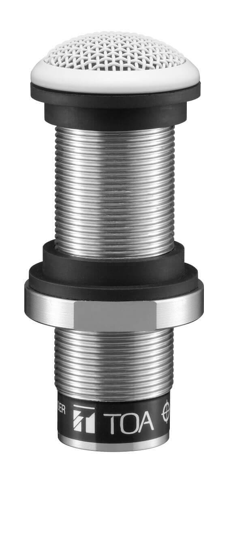 TOA EM-600 Micrófono de montaje empotrado omnidireccional