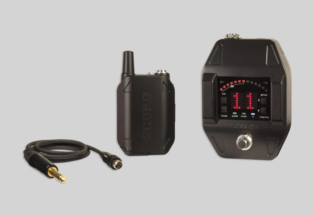 Shure general GLXD16 Sistema inalámbrico para guitarra y bajo