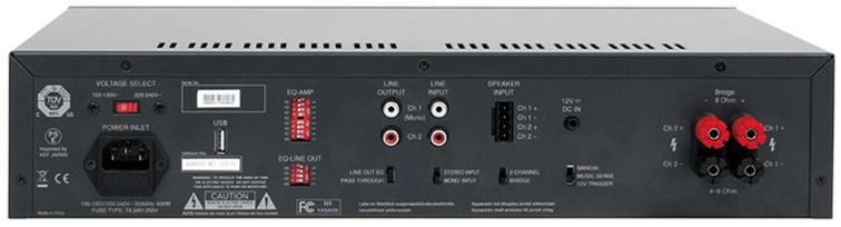 Amplificador  clasificación d-Kasa500