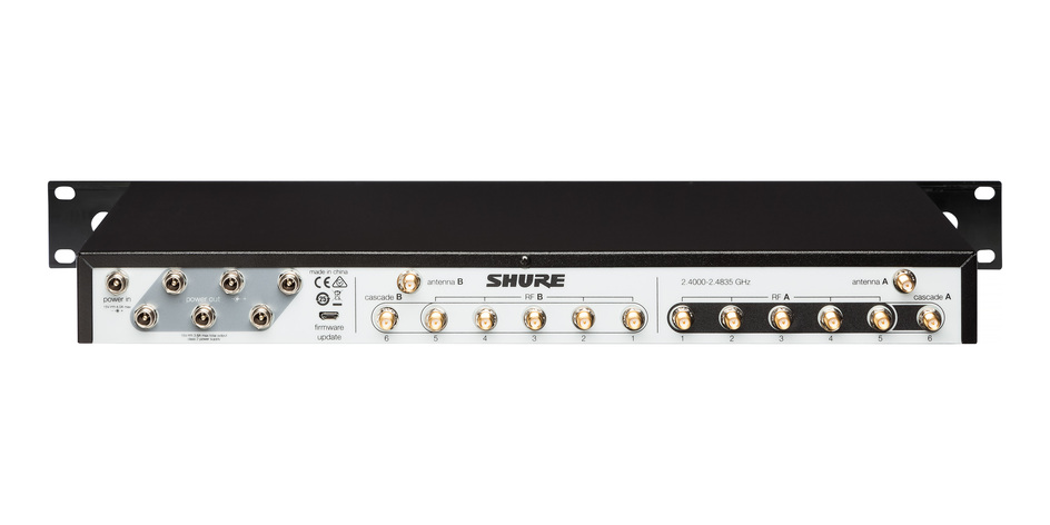 Shure UA846Z2/LC Administrador de frecuencia glx-D