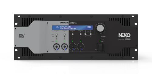 Controlador digital amplificado 4 canales 1900w x canal 8Ohms-Nxamp4x4u