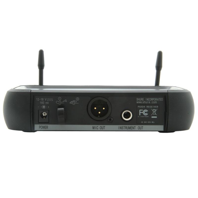 Shure PGXD24/SM58 Microfono inalambrico con capsula sm58