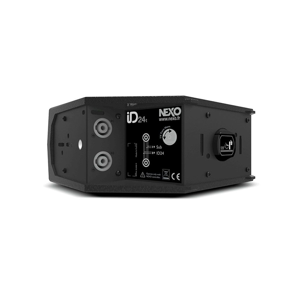 Nexo ID.24-T 12040 Gabinete acústico con 2 unidades 4