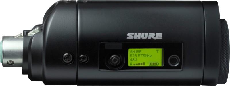 Micrófono inalámbrico y receptor con  salidas lógicas de micrófono inalámbrico cardioide de perfil bajo.-Mx690/slx4l