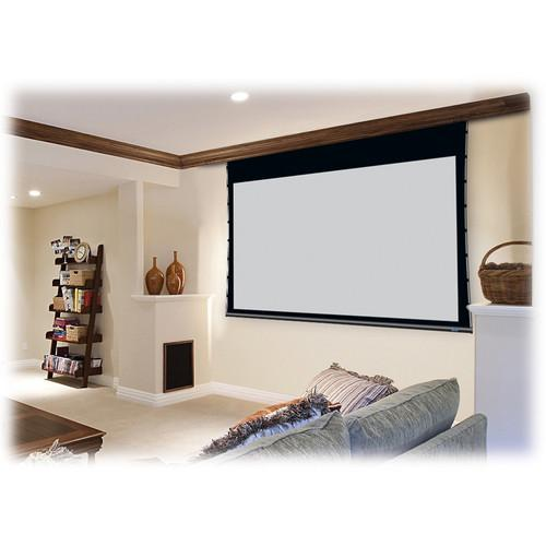 "Pantalla Electrica sobre Techo 113"" (16:10), 1524mm x 2438mm, Color Blanco 12"" de BD"