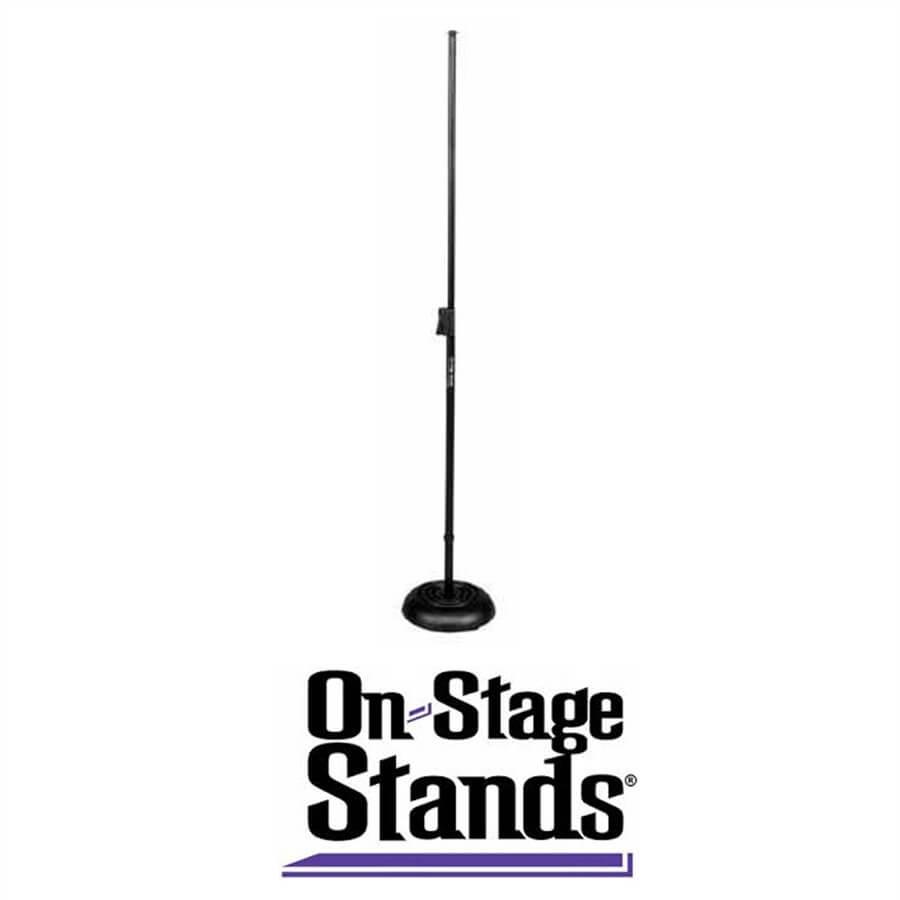 Pedestal Para Micrófono Base Redonda