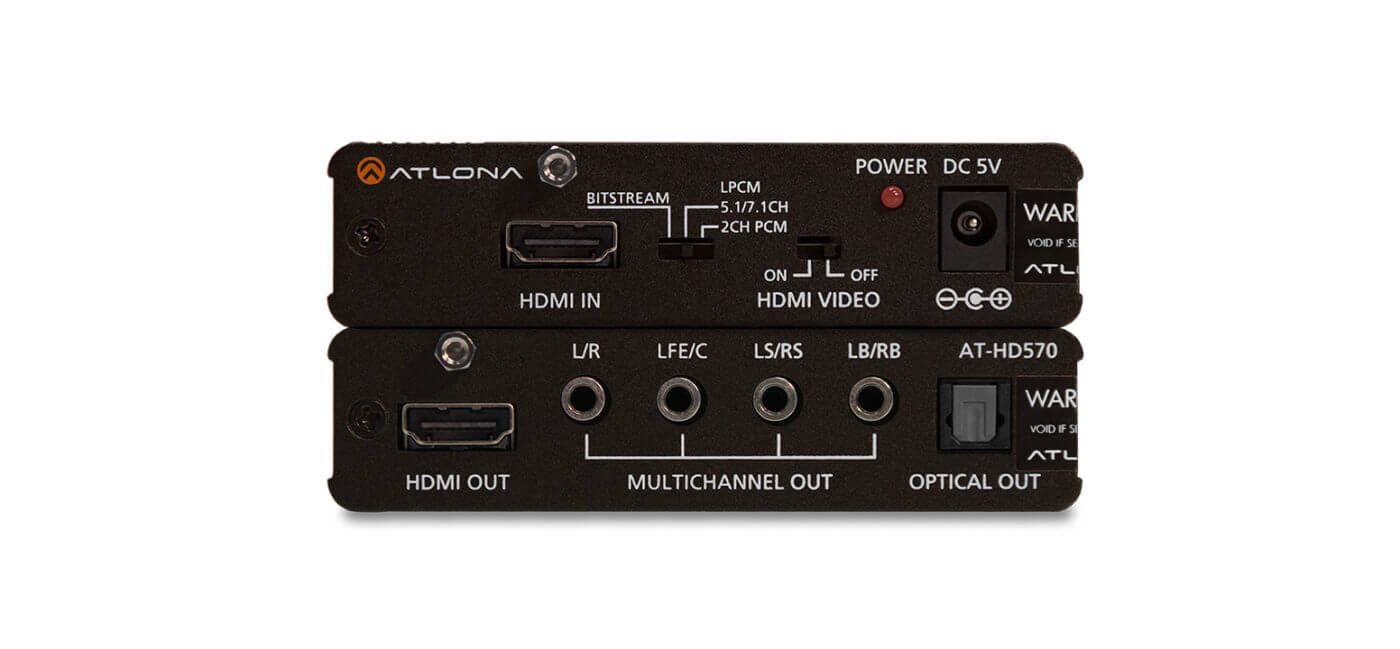 Decodificador De Audio Hdmi Con Soporte 3d