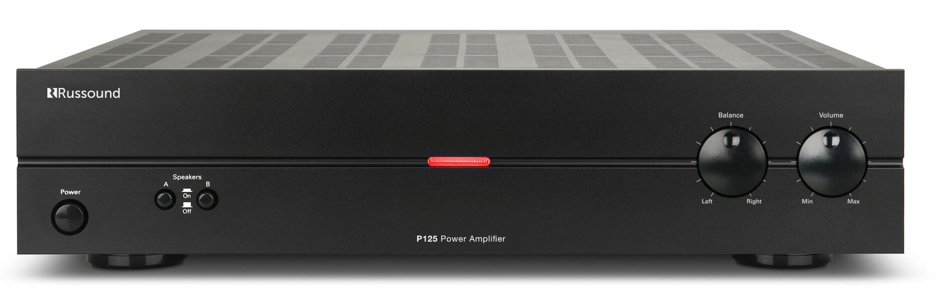 P125 De Dos Canales, 125w, Amplificador De Doble Fuente