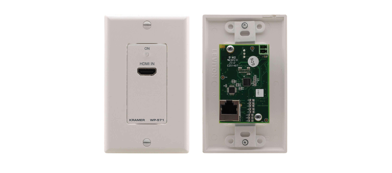Transmisor Wallplate Hdmi Hdcp 2.2