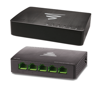 Luxul XGS-1005 Switch Gigabit de 5 puertos