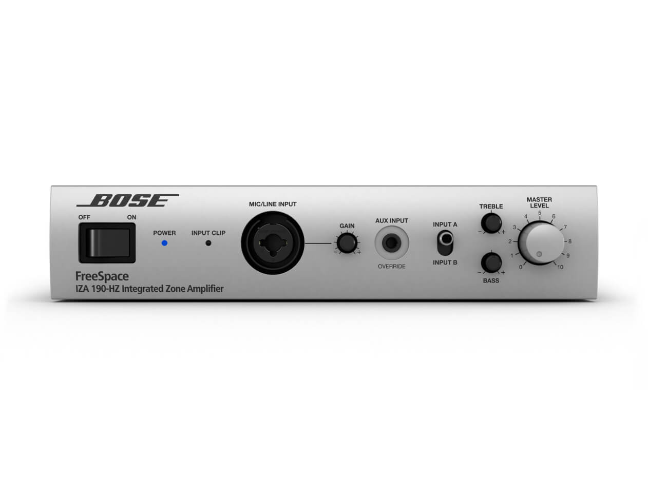 BOSE FREESPACE IZA 190-HZ 1x90Watts a 70/100Volts