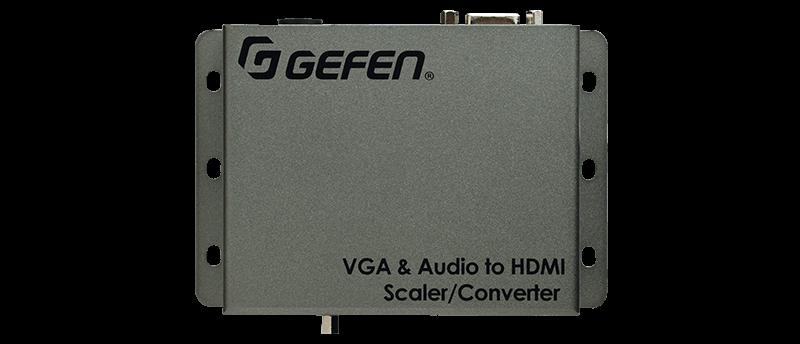 Escalador / Convertidor, De Vga  + Audio A Hdmi
