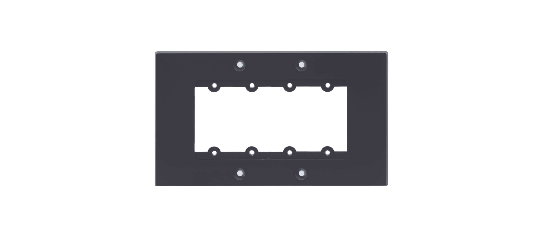 Frame 2-g Para Wall Plate Insercción