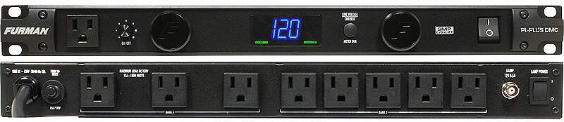 Acondicionador De Energía Con Luces, Voltímetro, Amperímetro.20 Amperes