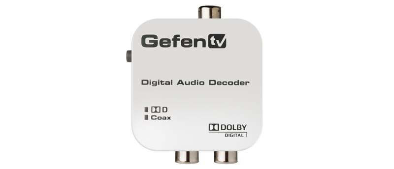 Convertidor De Audio Codificado En Dolby Digital  A 2 Canales L/r