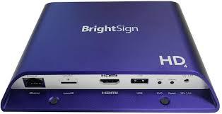 Brightsign Hd1024, Reproductor Html5 De E/s Ampliado Full Hd